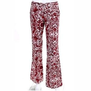 Moschino Jeans Flared Mid-Rise Pants